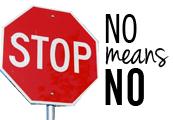 No means No!