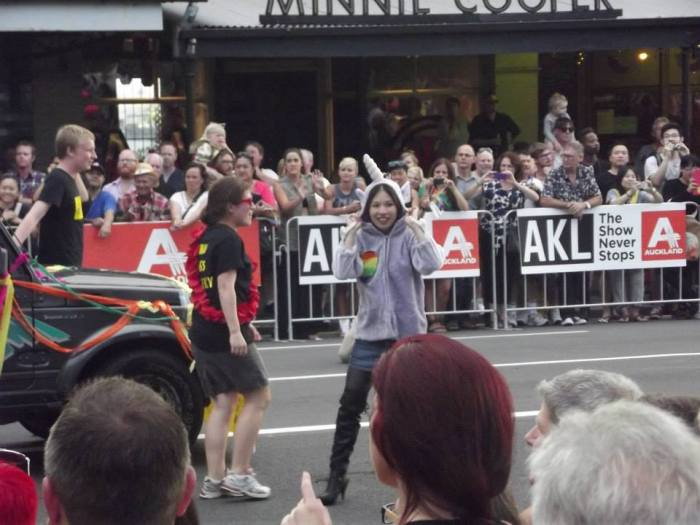 Unicorn vivster81 at the Pride Parade in Auckland 2014